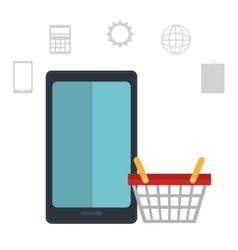 Ecommerce and digital marketing vector