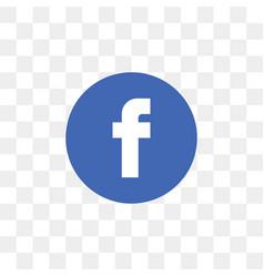Facebook social media icon design template vector