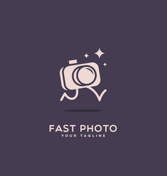 fast photo vector image