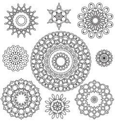 Floral Ornament Pattern vector