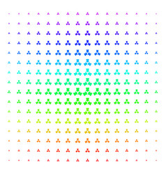 Shrink arrows shape halftone spectral grid vector