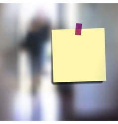 Sticky notes wallpaper vector