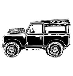 Suv jeep vector
