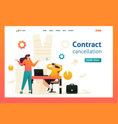 Termination of the contract flat 2d character vector