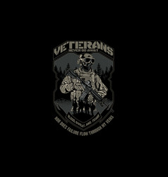 Veterans vector