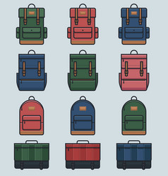 day packs vector image vector image