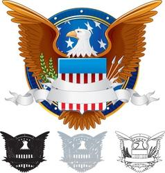 Presidential Seal vector image