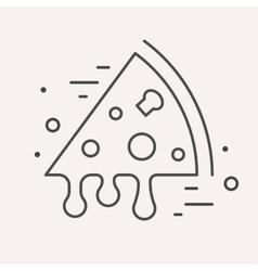 Line Logo Food or Drink vector image vector image