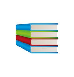 color book study icon vector image