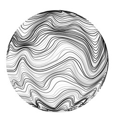 Abstract sonic wave ball motion chaos wavy vector