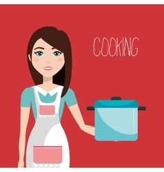 catering service design vector image