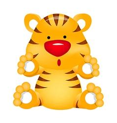 Icon tiger vector
