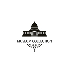 house museum icon vector image