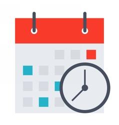 Meeting Deadlines Concept vector image vector image