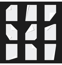 Parer Sheet Mockup vector image