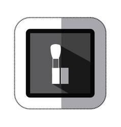 symbol brush makeup icon vector image