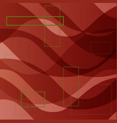 abstract wave set on transparent background eps10 vector image