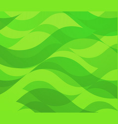 backdrop with green waves - abstract vector image
