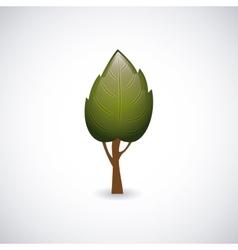 conceptual tree design vector image