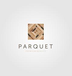 Floor parquet wood minimalist flooring vinyl vector