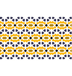 Islamic geometric pattern in traditional style vector