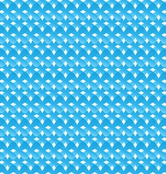 Seamless pattern of blue abstract crosses vector