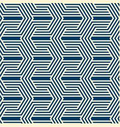 Vintage minimalistic geometric seamless pattern vector