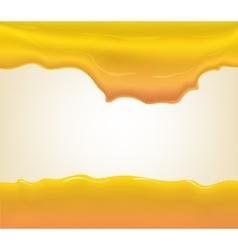 yogurt or cream splashing vector image