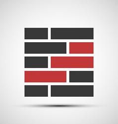 icons brickwork vector image vector image