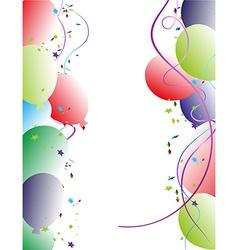 Party balloon Frame vector image vector image