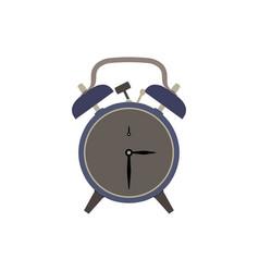 clock alarm icon time wake background isolated vector image