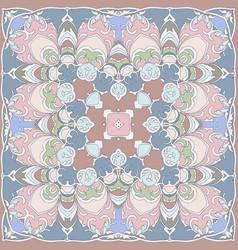 gentle colored handkerchief vector image vector image