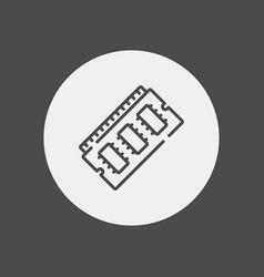 ram icon sign symbol vector image