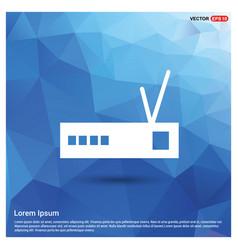 Router icon vector