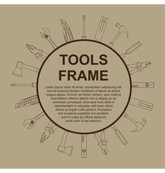 Tools frame 2 vector