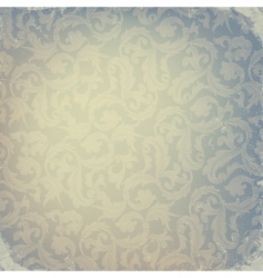 abstract damask design vector image vector image
