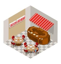 Food court vector