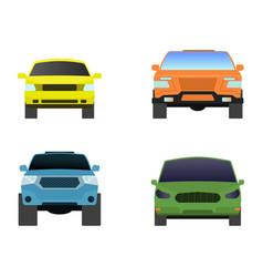 Car vehicle transport type design travel race vector