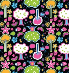 cool orchard vector image