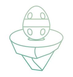 easter egg design vector image