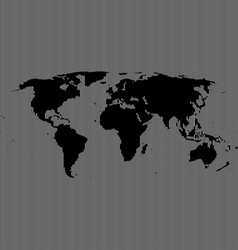 line world map vector image