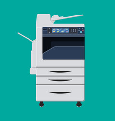 Office multifunction machine vector