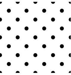 polka dot bold seamless pattern vector image