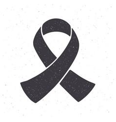 silhouette award ribbon fashion accessory vector image