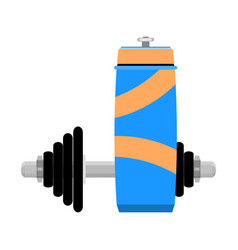 water and training vector image