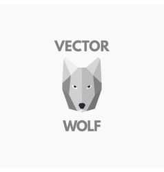 wolf symbol vector image