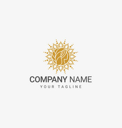 women decorative logo vector image