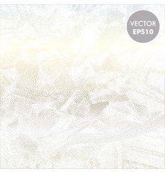Ice Frosty Background Abstract vector image