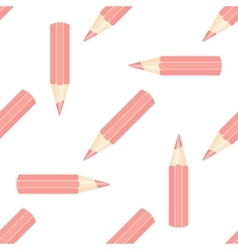 pencil seamless isolated vector image vector image