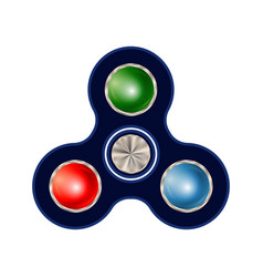 Spinner isolated on white background vector